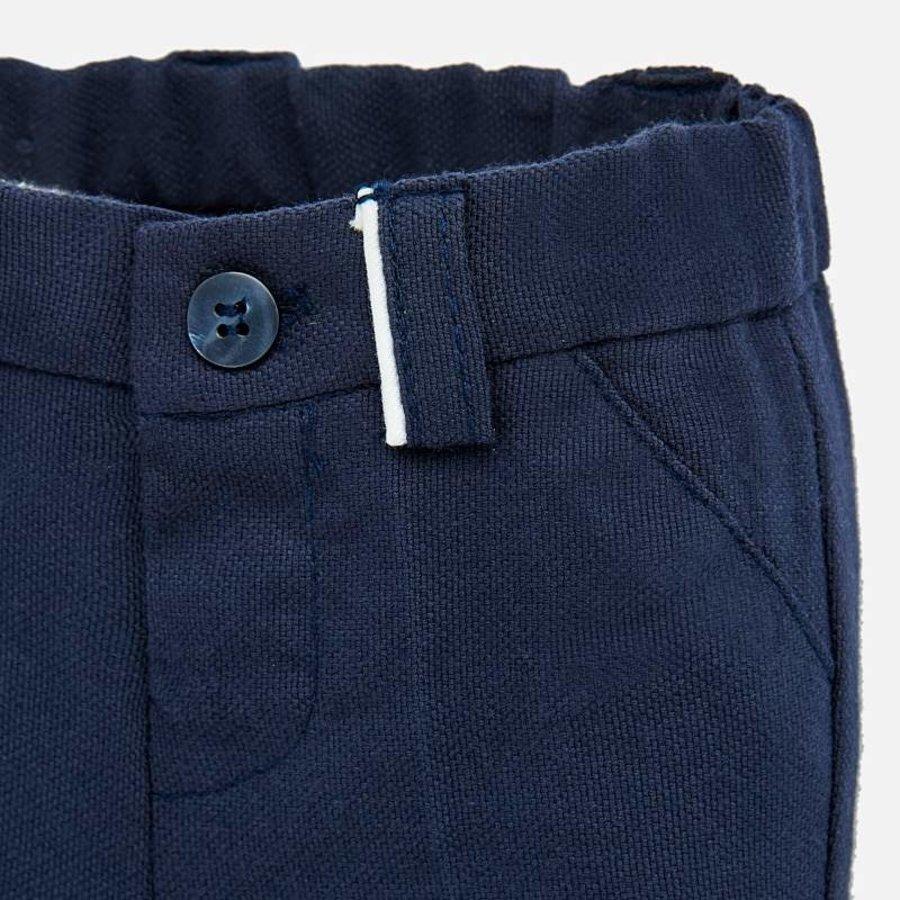 pantalon stretch - blauw-3