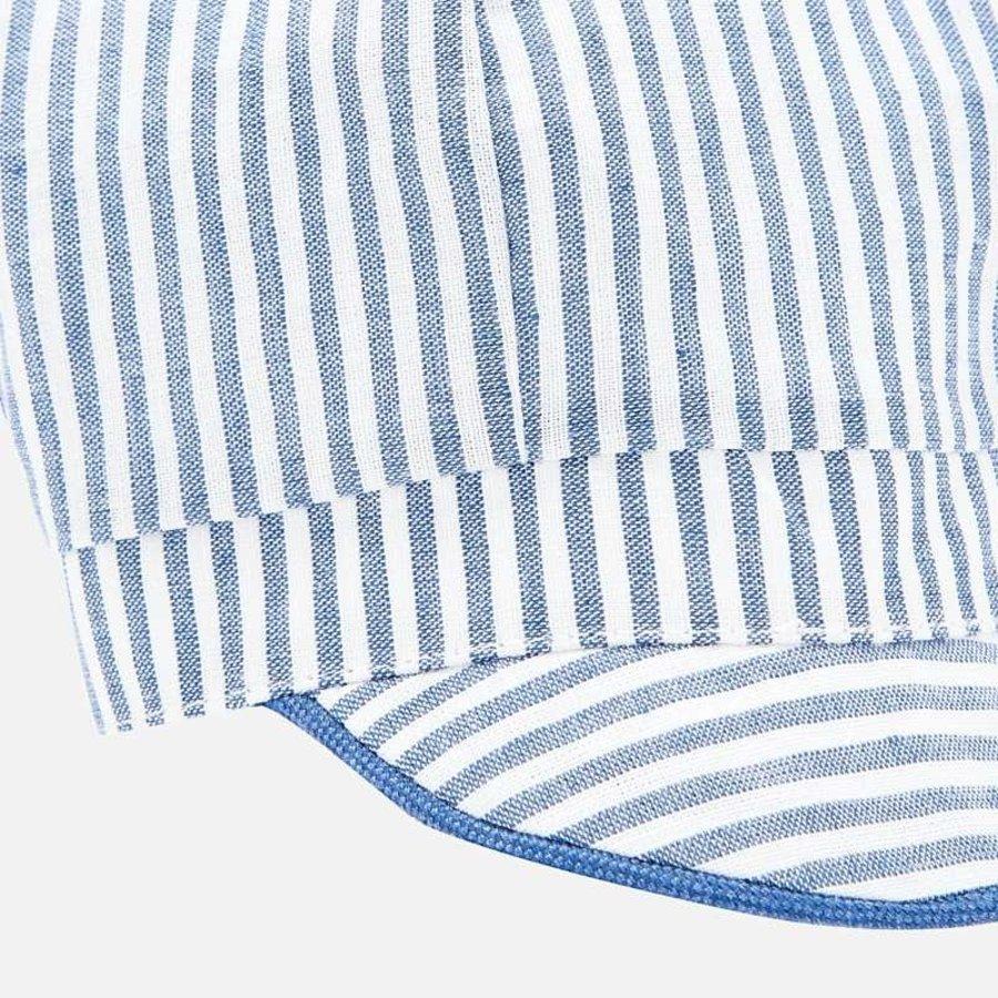 babypet streepjes - blauw-3