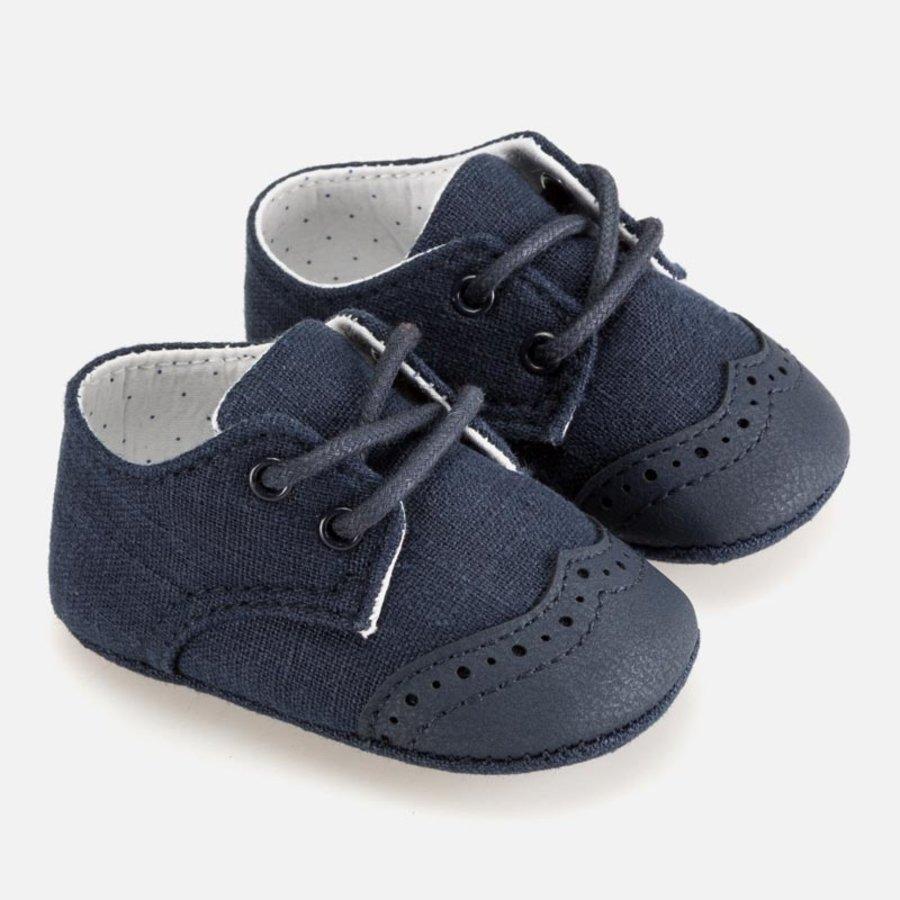 veterschoentje linnen - blauw-1