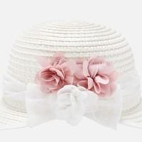 thumb-hoed met bloemen - roze-1