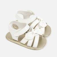 thumb-sandaal met strik - wit-1