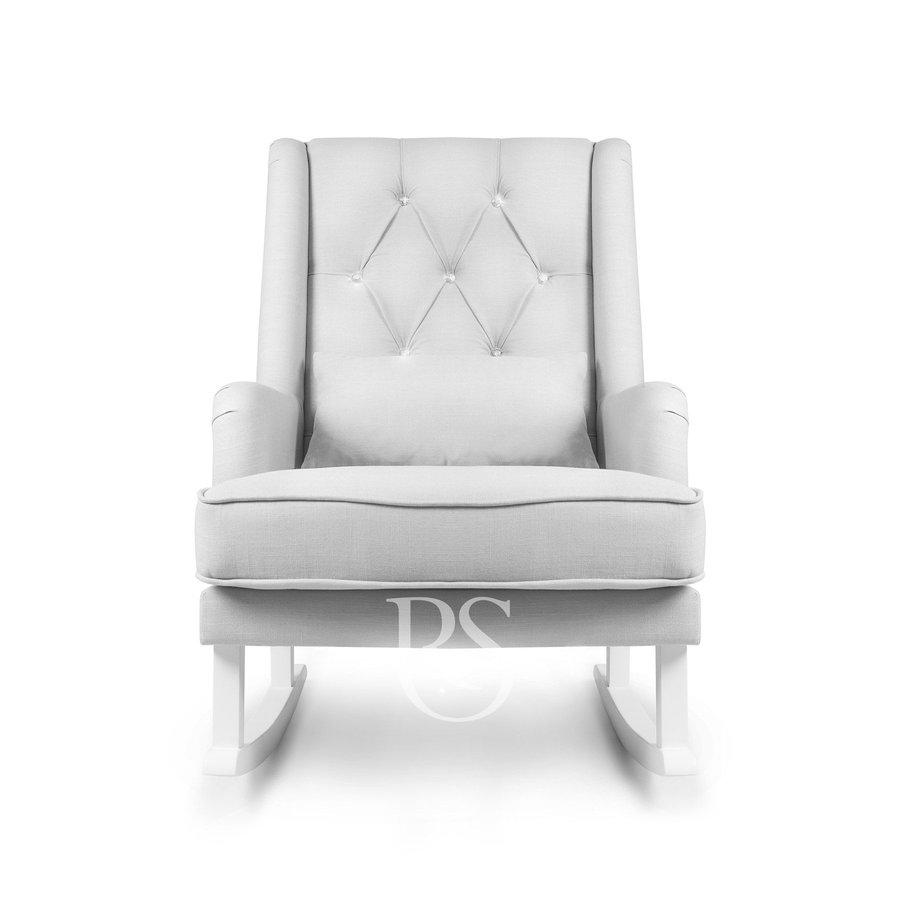 schommelstoel Crystal Royal Rocker - Silver Grey-2