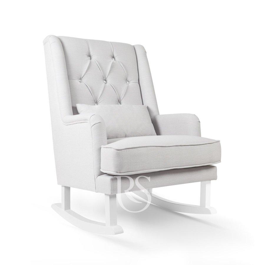 schommelstoel Crystal Royal Rocker - Silver Grey-1