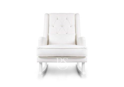 Rocking Seats schommelstoel Crystal Royal Rocker - Snow White