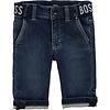 Hugo Boss spijkerbroekje stretch met logoband