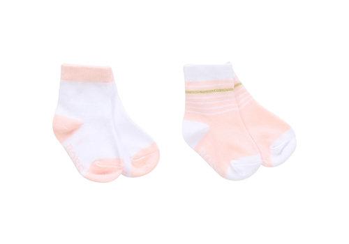 Hugo Boss sokjes met glitterband - roze