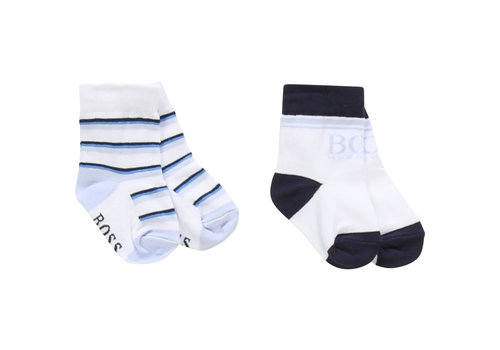 Hugo Boss sokjes met logo - wit
