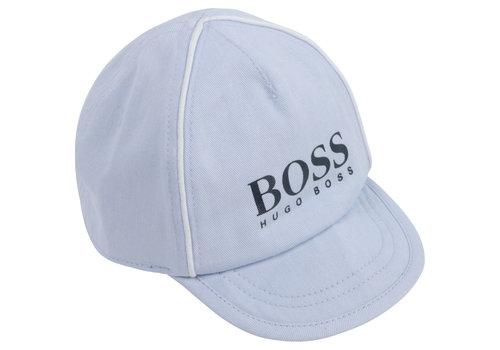 Hugo Boss babypet - lichtblauw