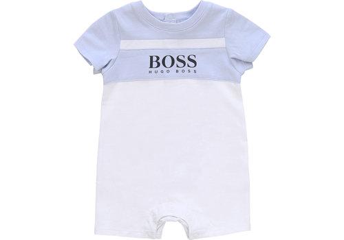 Hugo Boss babypakje kort - lichtblauw
