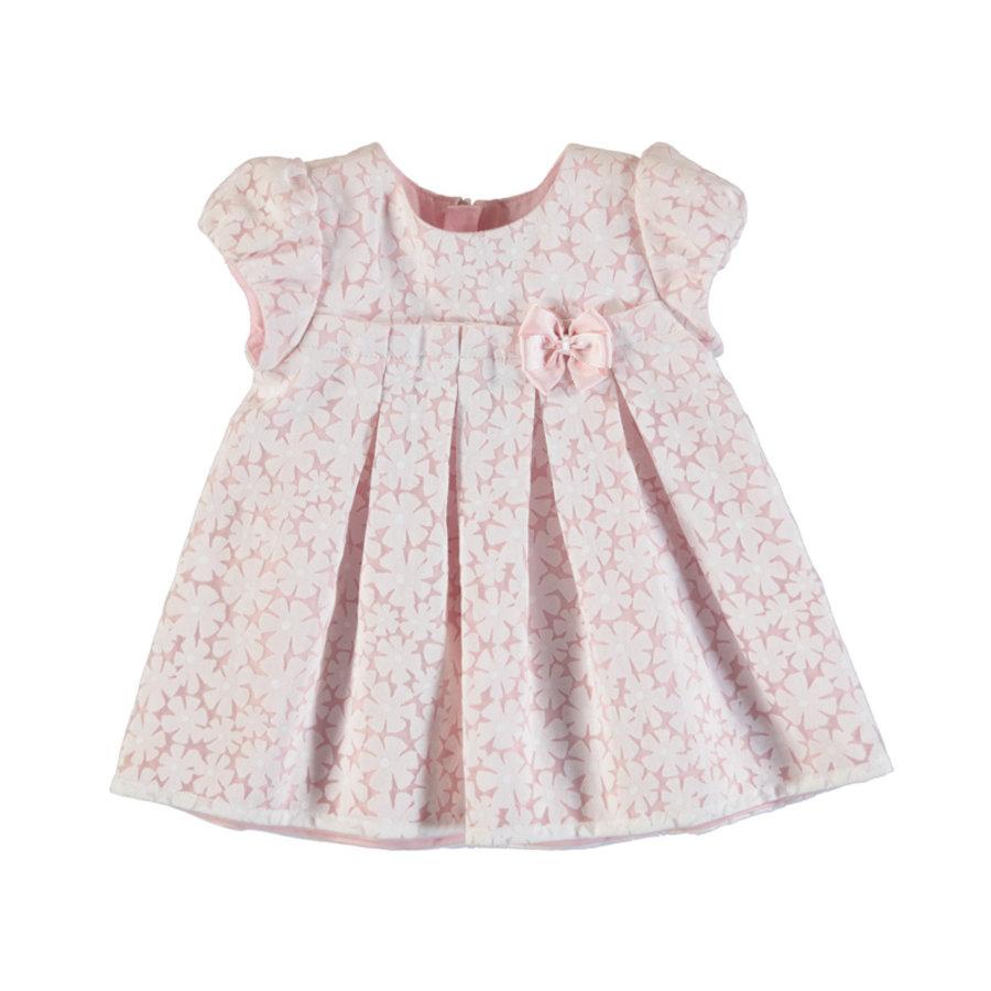 jurkje met bloemen - roze-1