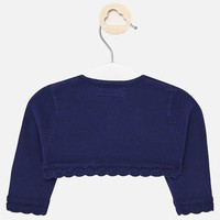 thumb-baby vestje met schulprand - blauw-3