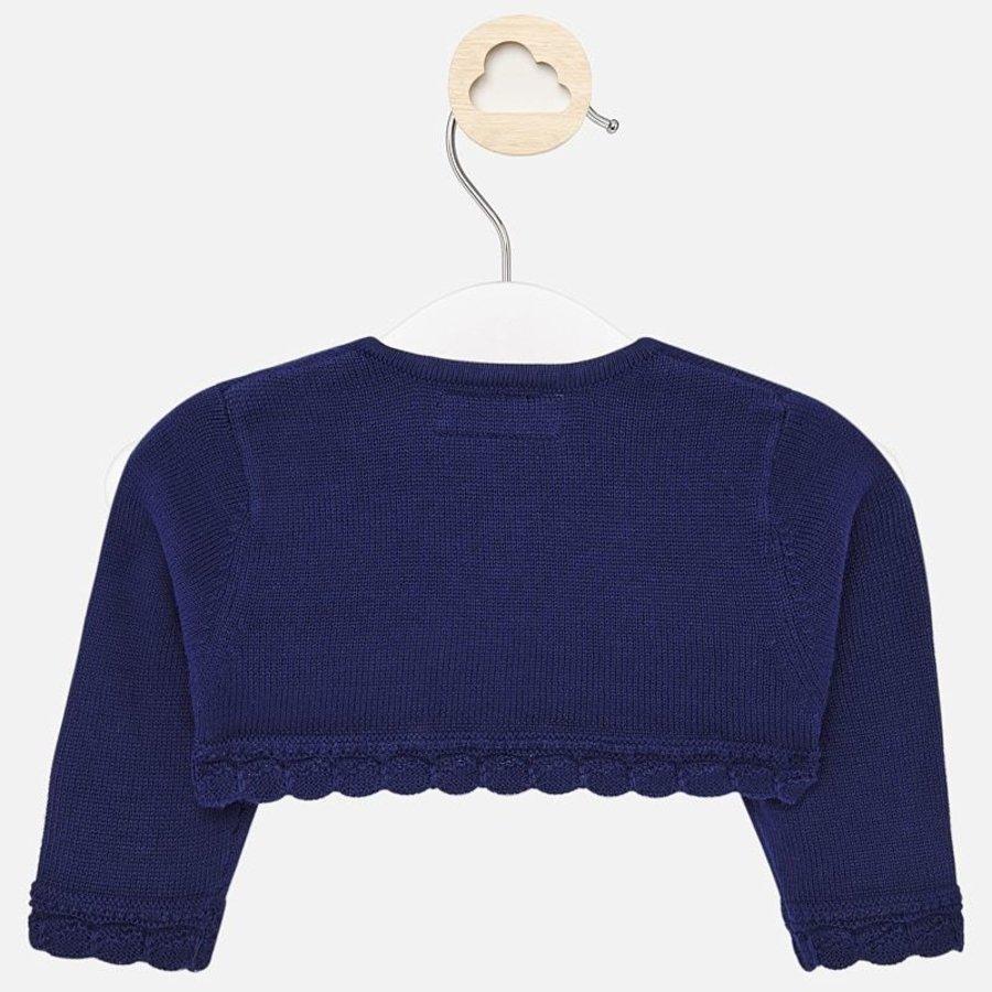 baby vestje met schulprand - blauw-3