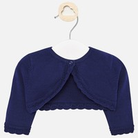 thumb-baby vestje met schulprand - blauw-1
