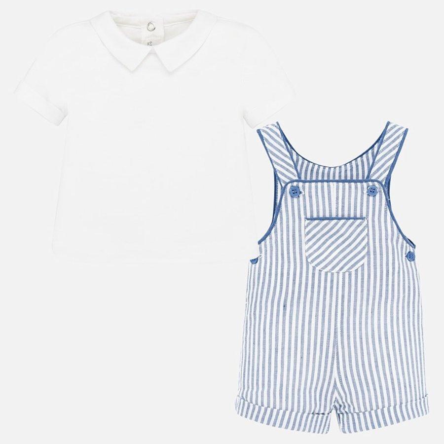 t-shirt met pakje - lichtblauw-2