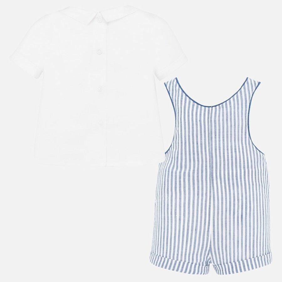 t-shirt met pakje - lichtblauw-3