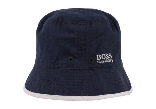 Hugo Boss hoed omkeerbaar - blauw