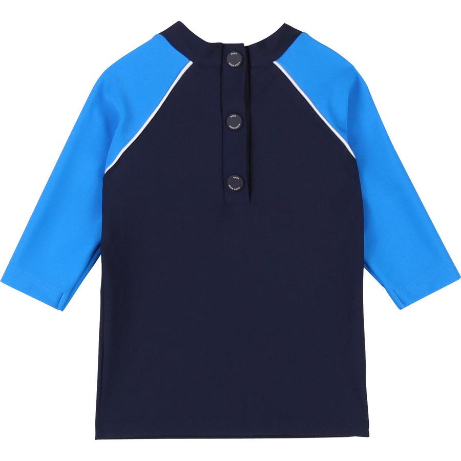 t-shirt UV werend - blauw-2