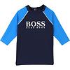 Hugo Boss t-shirt UV werend - blauw
