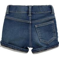 thumb-kort broekje stretch jeans - blauw-2