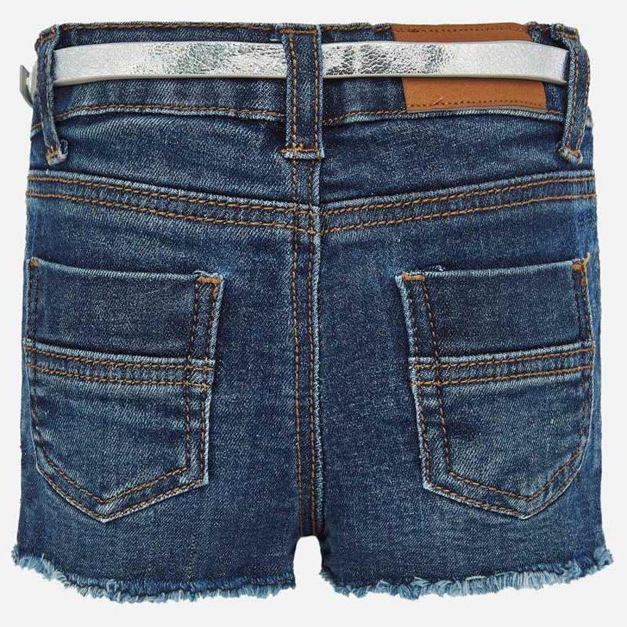 spijkerbroekje margriet met riem - blauw-2