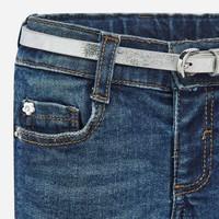 thumb-spijkerbroekje margriet met riem - blauw-3