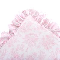 thumb-Sweet Pink Kussen volant geprint-2