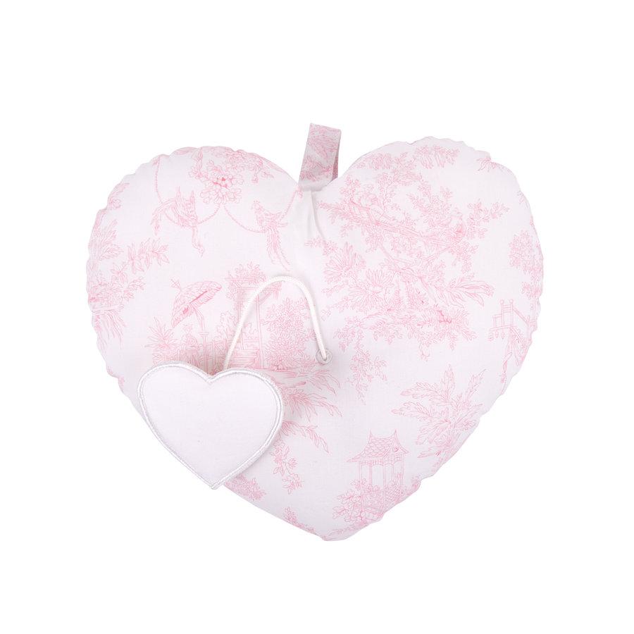 """Sweet Pink Muziekkussen """"hart""""-2"""