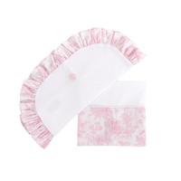 Sweet Pink Wieglaken + sloop