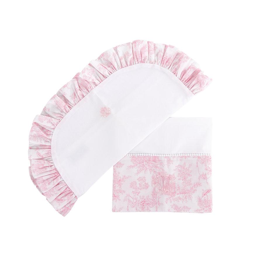 Sweet Pink Wieglaken + sloop-1