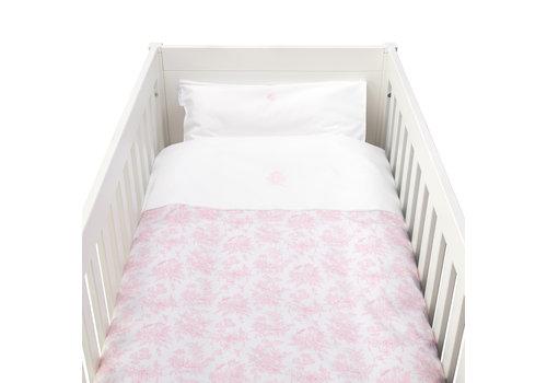 Théophile & Patachou Sweet Pink Donsovertrek bed 100x135cm  + sloop