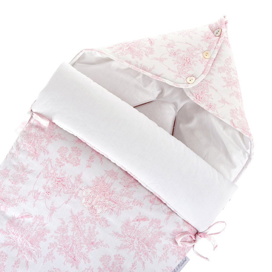 """Sweet Pink Voetenzak voor Maxi-Cosi """"Pebble+""""-2"""