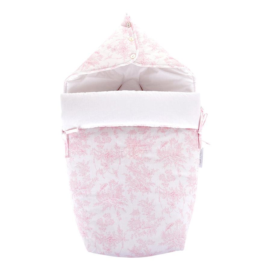 """Sweet Pink Voetenzak voor Maxi-Cosi """"Pebble+""""-1"""