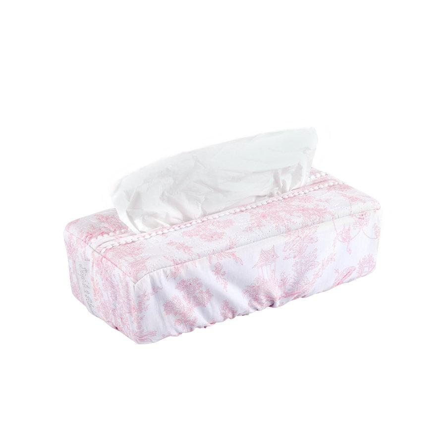 Sweet Pink Hoes voor kleenex-doos - Gewatteerd-1