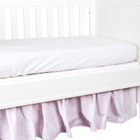 thumb-Sweet Pink Bedrok 60x120cm - Katoen-2