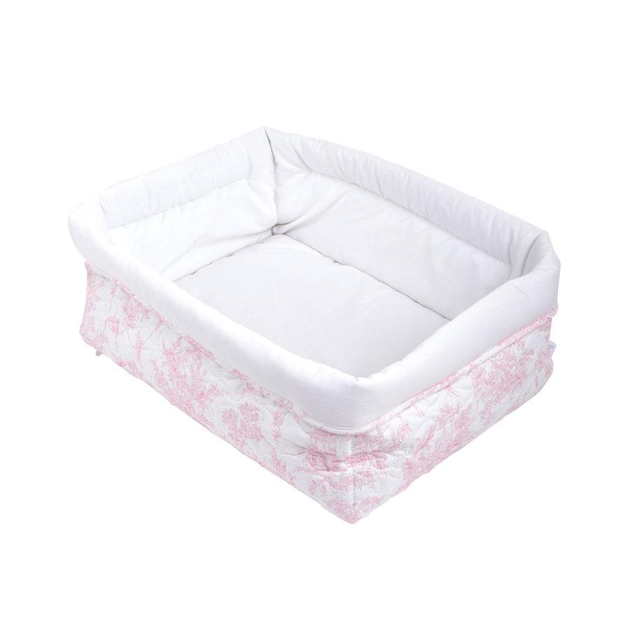 Sweet Pink Verzorgingsmand vierkant - Gewatteerd-1
