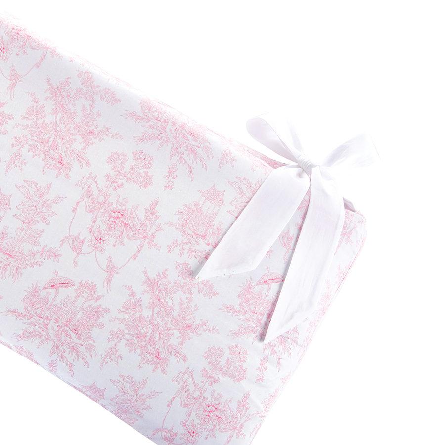 Sweet Pink Bedbeschermer 60cm - Gedrukt (60x60x60cm) H:32cm-2