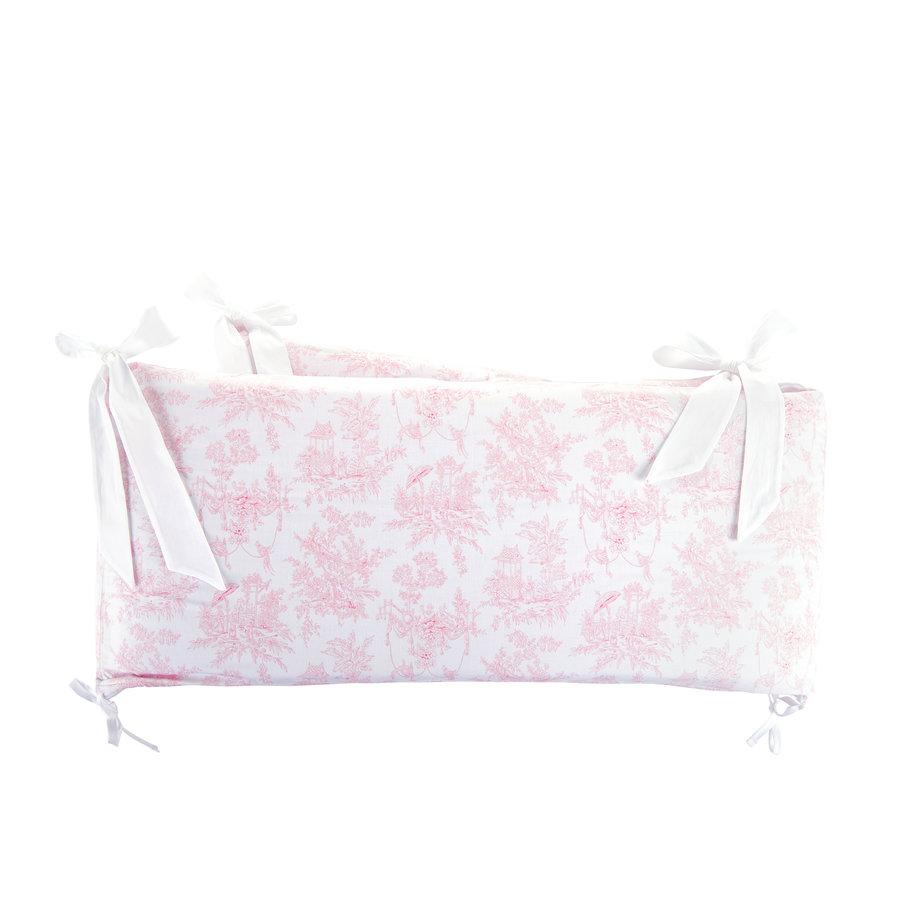 Sweet Pink Bedbeschermer 60cm - Gedrukt (60x60x60cm) H:32cm-3