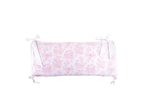 Théophile & Patachou Sweet Pink Bedbeschermer 60cm - Gedrukt (60x60x60cm) H:32cm
