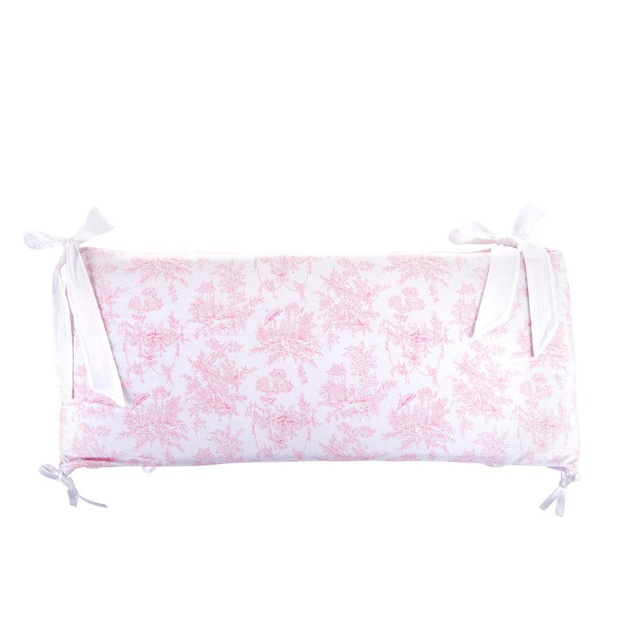 Sweet Pink Bedbeschermer 60cm - Gedrukt (60x60x60cm) H:32cm-1
