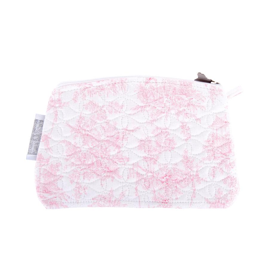 Sweet Pink Platte tas - Gewatteerd-2
