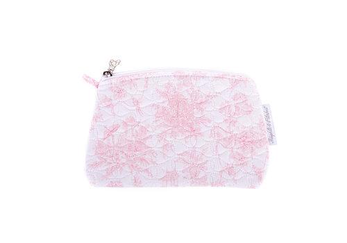 Théophile & Patachou Sweet Pink Platte tas - Gewatteerd