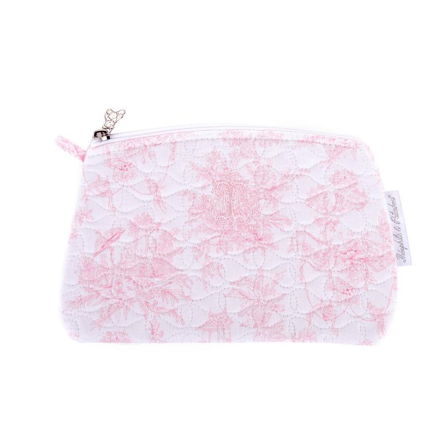 Sweet Pink Platte tas - Gewatteerd-1