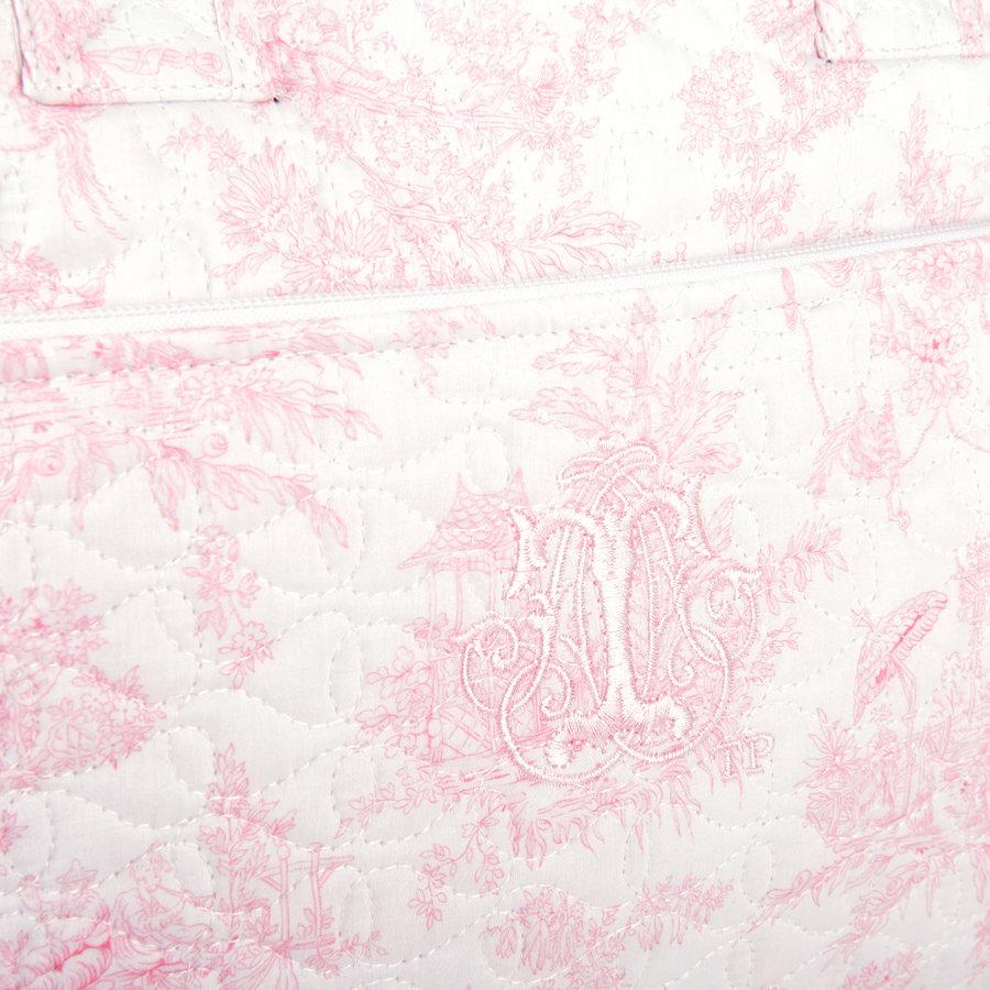 Sweet Pink Reis-toilettas - Gewatteerd-5