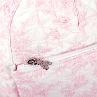 thumb-Sweet Pink Reis-toilettas - Gewatteerd-4