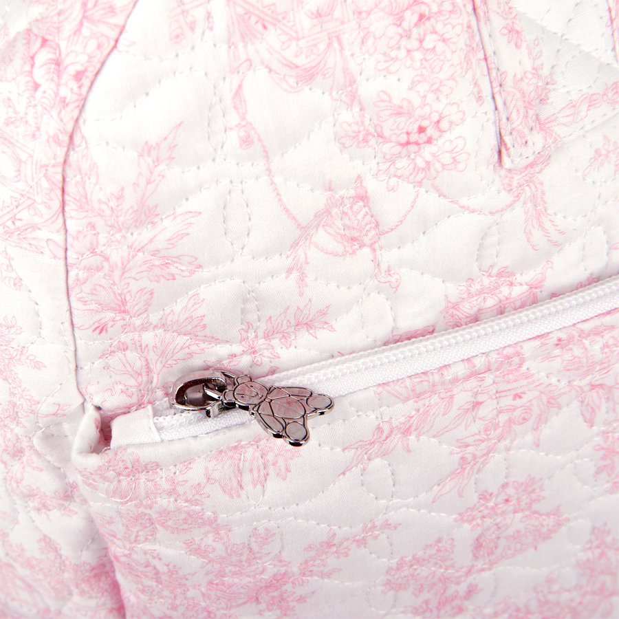 Sweet Pink Reis-toilettas - Gewatteerd-4