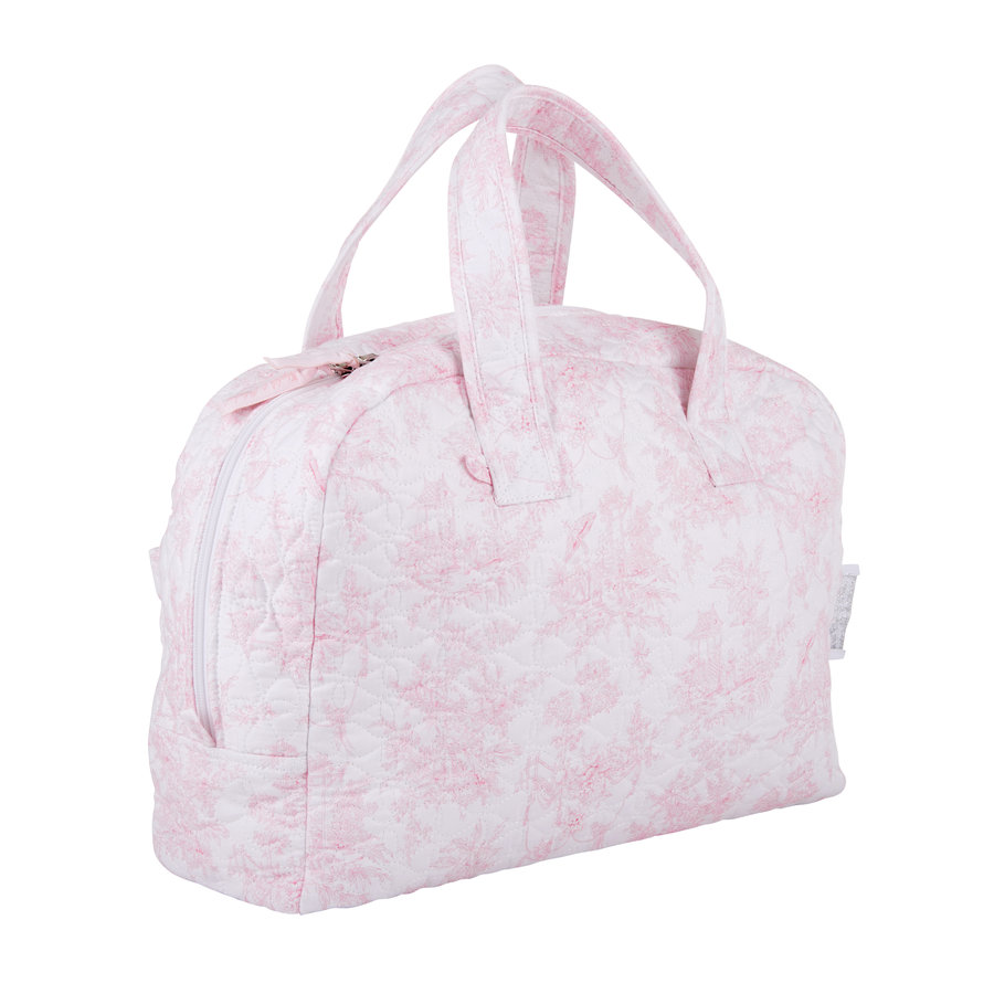 Sweet Pink Reis-toilettas - Gewatteerd-3