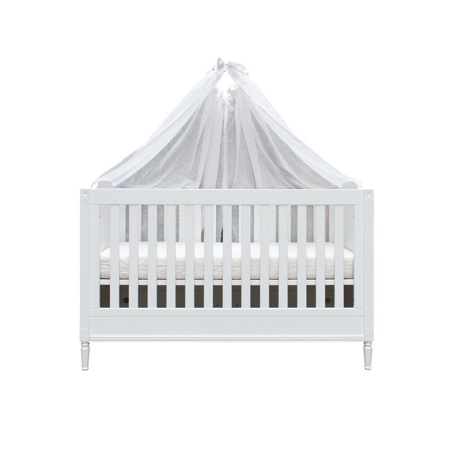 Sweet Pink Set 2 hemels schuif voor bed 185x150 - linnen-1