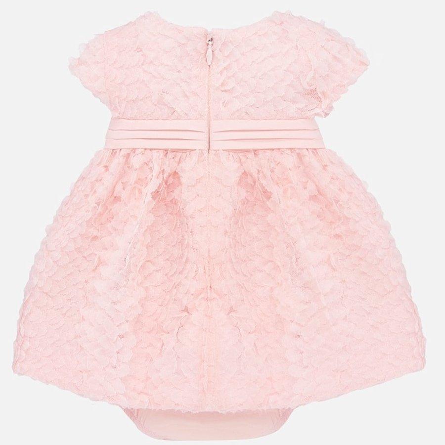 jurkje met broekje rozen - roze-2