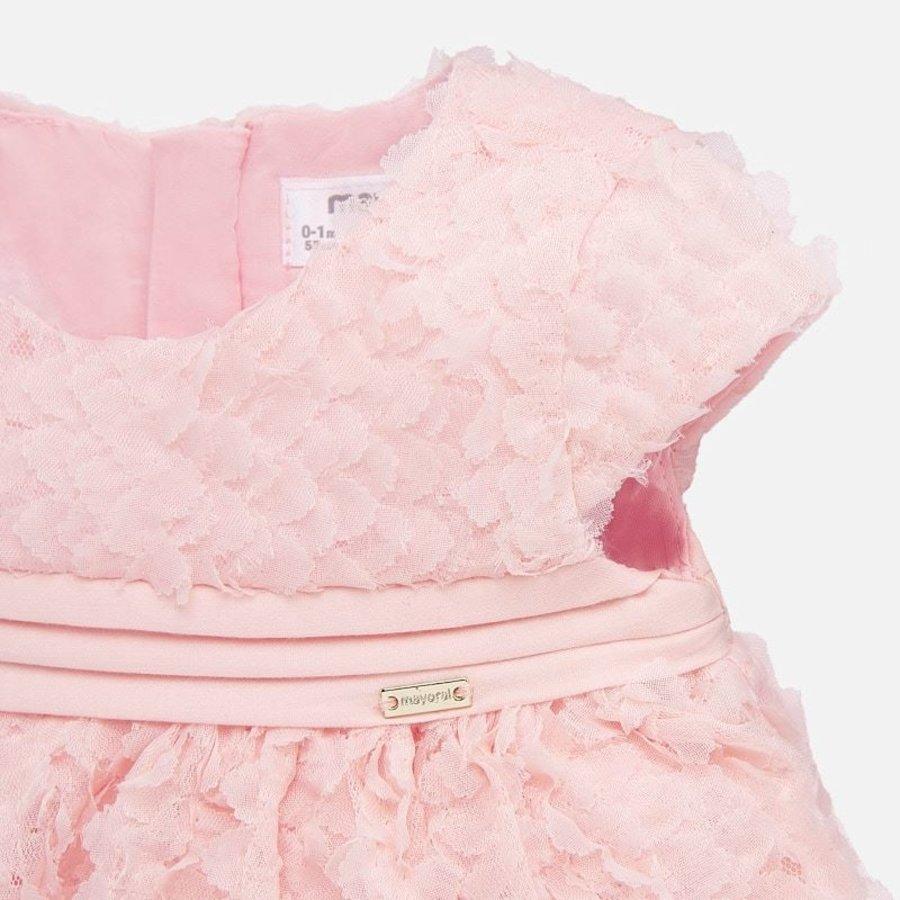 jurkje met broekje rozen - roze-3