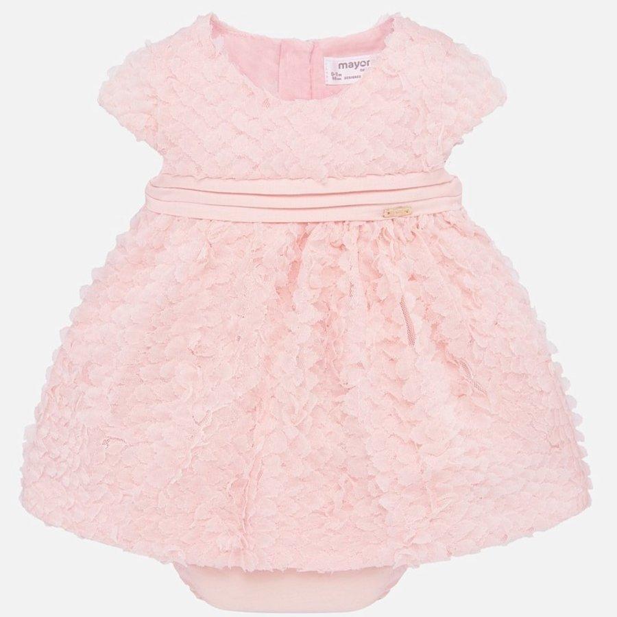 jurkje met broekje rozen - roze-1